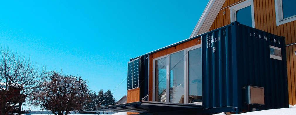 de estilo  por Stefan Brandt - solare Luftheizsysteme und Warmuftkollektoren