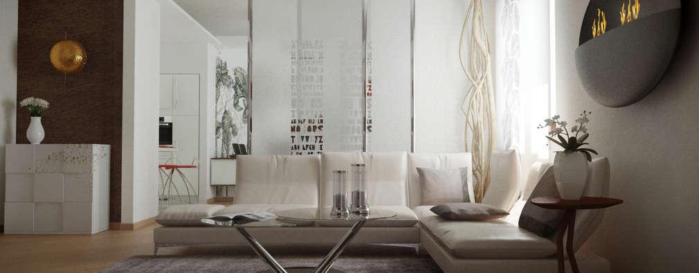 Salones de estilo ecléctico de LANGOLO HOME LIVING