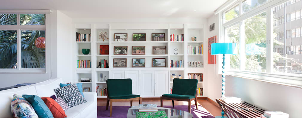 modern Living room by Suite Arquitetos