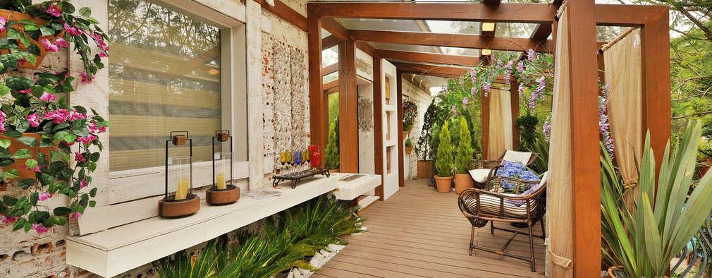 Terrazas de estilo  por Bender Arquitetura