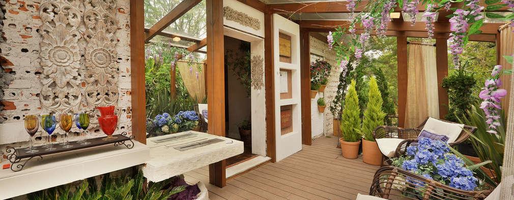 7 techos para tu terraza modernos y con estilo for Tejabanes para terrazas