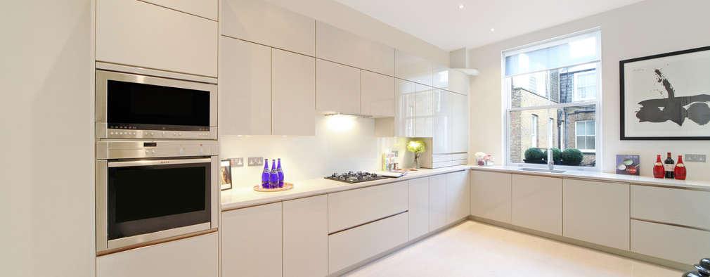 Projekty,  Kuchnia zaprojektowane przez Hampstead Design Hub