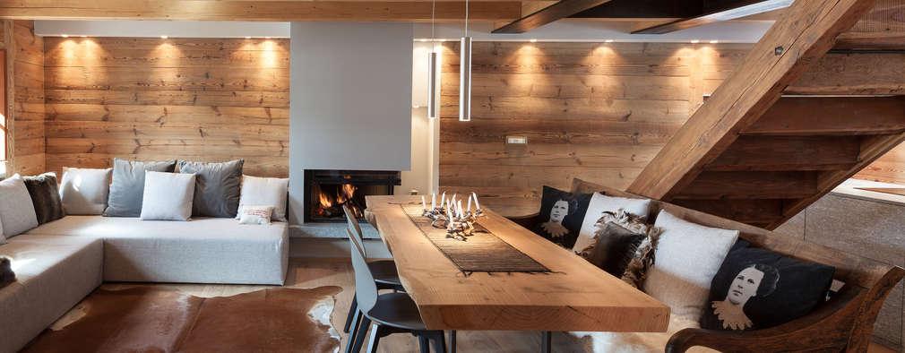 Te damos 15 ideas para revestir tus paredes con madera - Revestir pared con madera ...