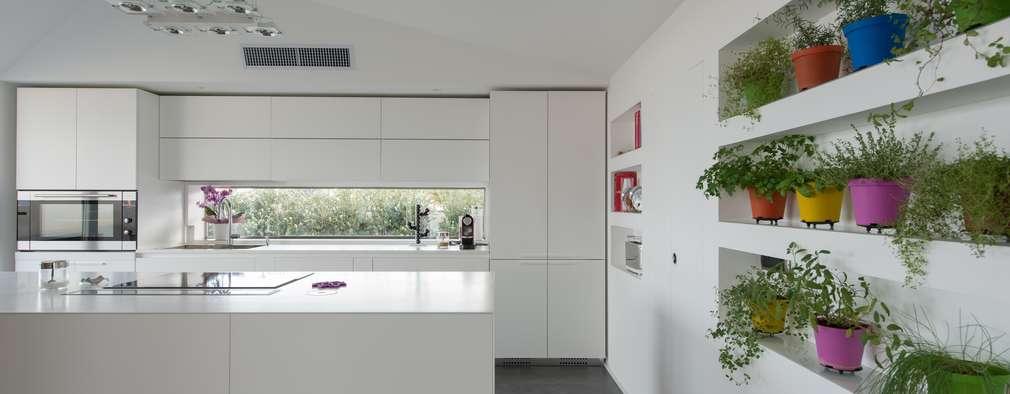 minimalistische Huizen door Mobilificio Marchese
