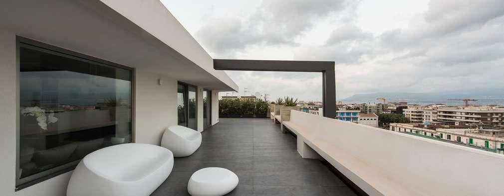 Terrasse de style  par Mobilificio Marchese