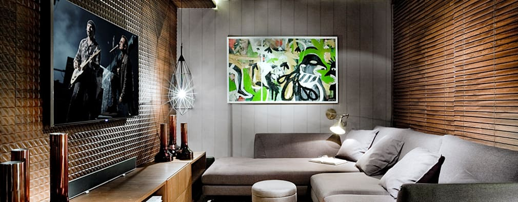 غرفة الميديا تنفيذ Larissa Maffra