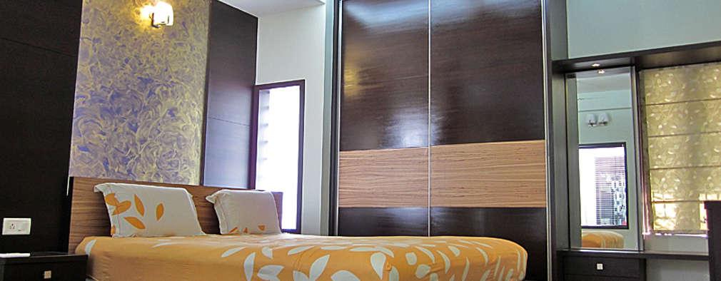 modern Bedroom by Cozy Nest Interiors