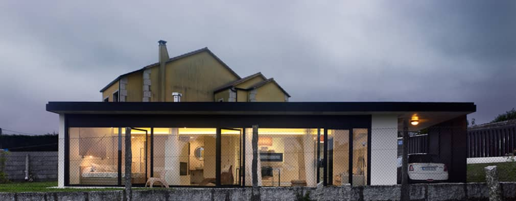 Casas de estilo minimalista por Nan Arquitectos