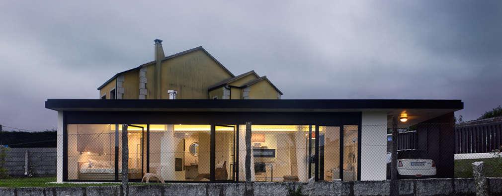 منازل تنفيذ Nan Arquitectos