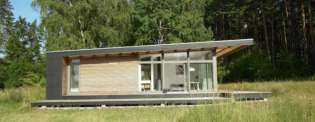 Sommerhaus Piu build a summer home in 1 day with this clever prefabricated design