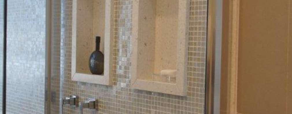 Triple Arquitetura: modern tarz Banyo