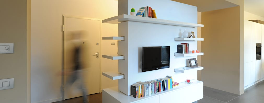 Salas de estilo minimalista por GRAZIANI & DICEMBRINO