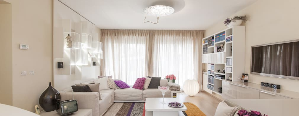 Casas de estilo moderno por StudioG