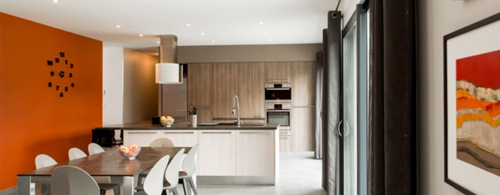 modern Kitchen by Marion Lanoë Architecte d'Intérieur