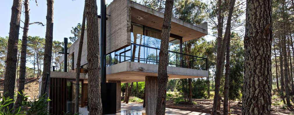 Casas de estilo moderno por ATV Arquitectos