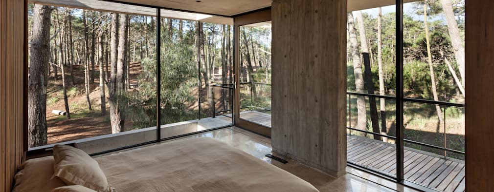 modern Bedroom by ATV Arquitectos