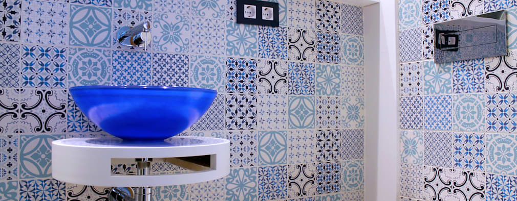 حمام تنفيذ lauraStrada Interiors