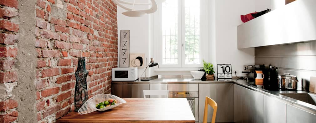 7 ideas con ladrillo para las paredes de tu casa for Casa stile moderno