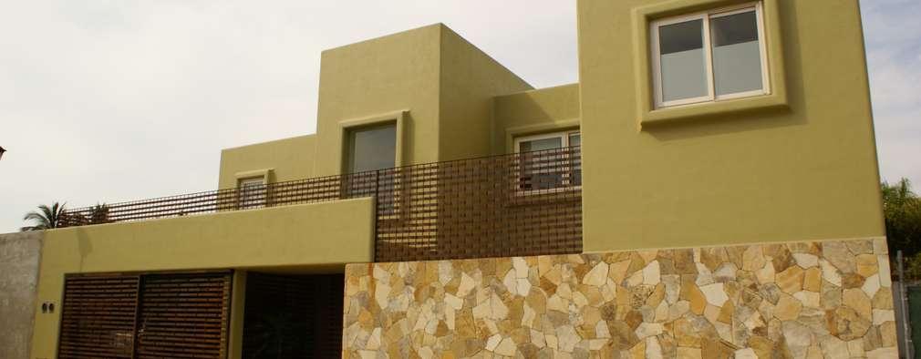 Los colores del 2018 para las fachadas nuevas tendencias for Nuevas fachadas minimalistas