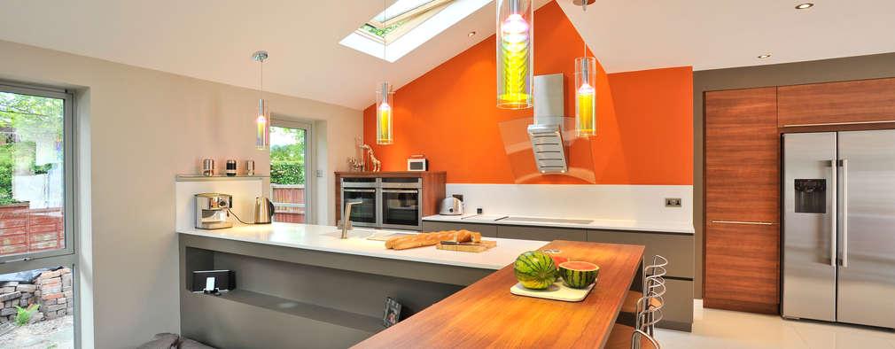 Cocinas de estilo moderno por Diane Berry Kitchens