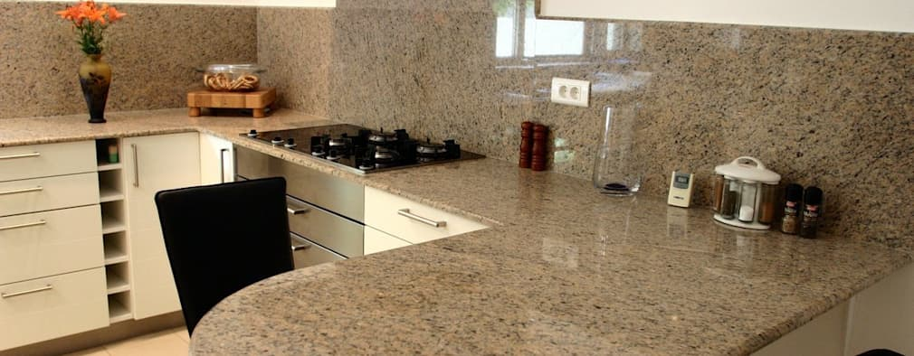 Cocinas 7 encimeras fant sticas de m rmol y granito for Encimera cocina marmol o granito