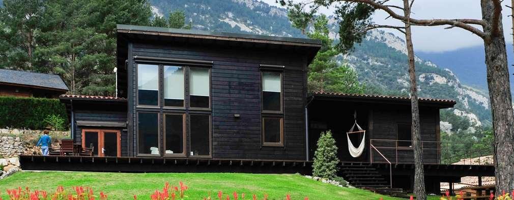 5 casas prefabricadas muy acogedoras por dentro y por fuera - Casas de madera por dentro ...