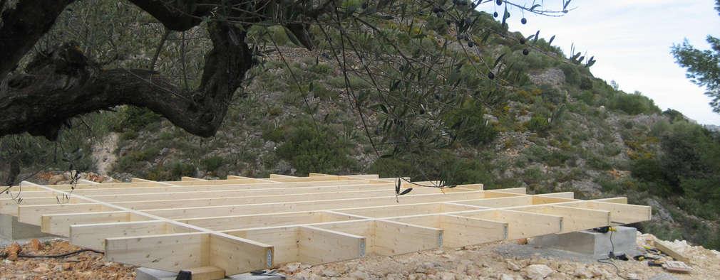 C mo construir una casa de madera paso por paso planos - Como hacer una casa prefabricada ...