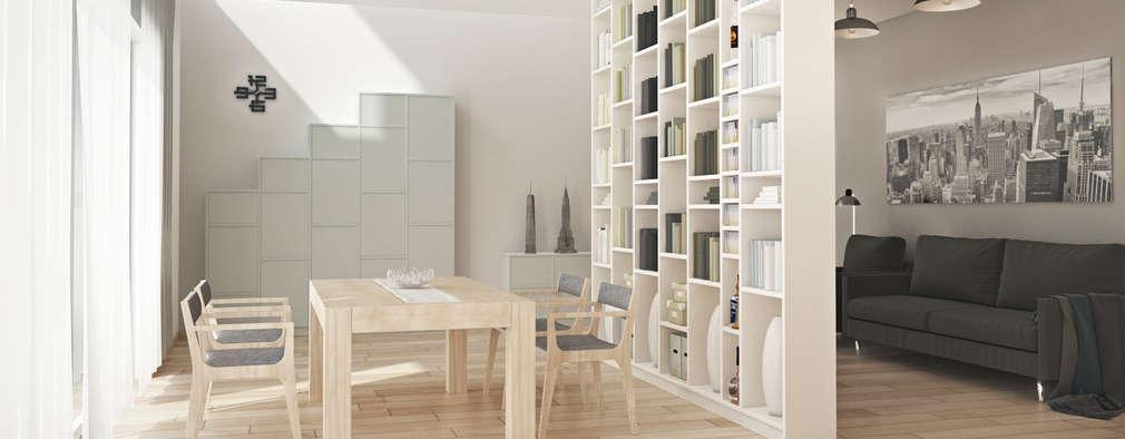 Projekty,  Salon zaprojektowane przez Pickawood GmbH
