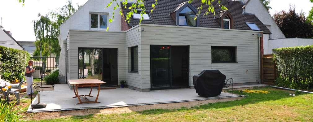 Extension bois dune maison individuelle a marcq en baroeul de style