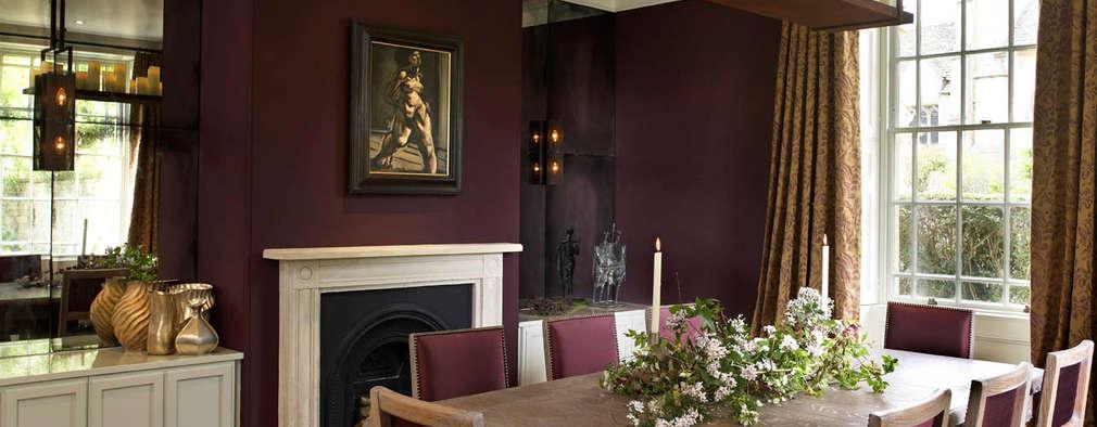 Salle à manger de style de style eclectique par Concept Interior Design & Decoration Ltd