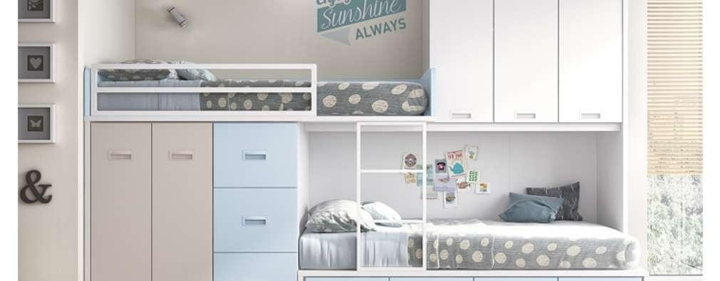 modern Nursery/kid's room by Toca Fusta