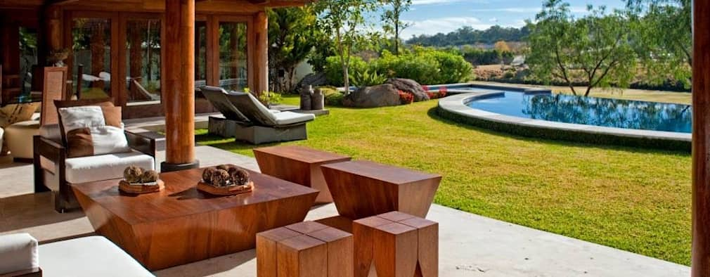 Terrasse de style  par Taller Luis Esquinca