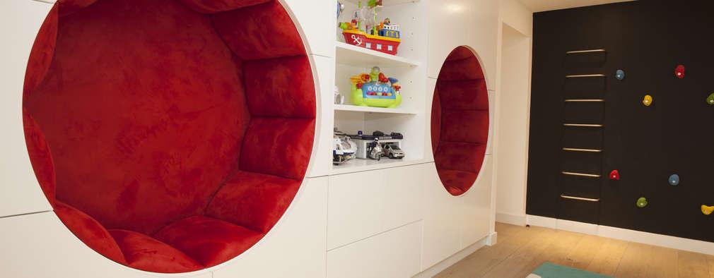 غرفة الاطفال تنفيذ Roselind Wilson Design