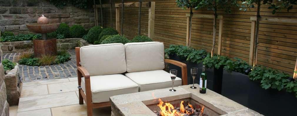 Jardins modernos por Bestall & Co Landscape Design Ltd
