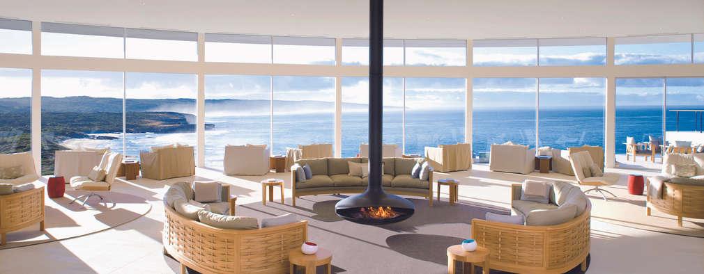 FOCUS: Salas de estilo moderno por ELEMENTO 3 / SAFRETTI/ HORUS/ ALPHENBERG/ JESS/ OI SIDE /ARKIT