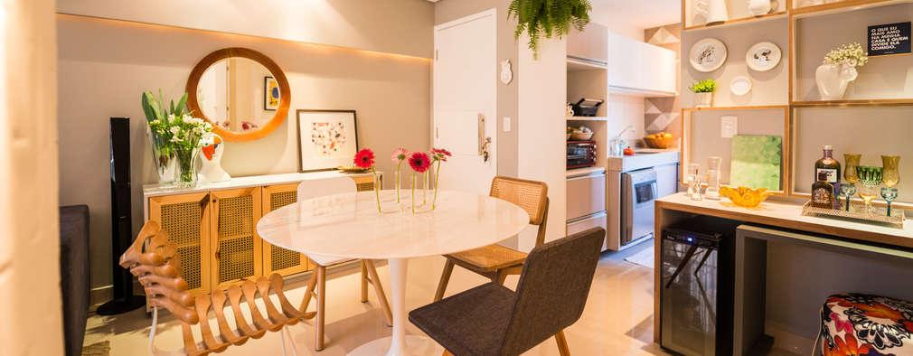 30 diseños de comedores ¡perfectos para casas pequeñas!
