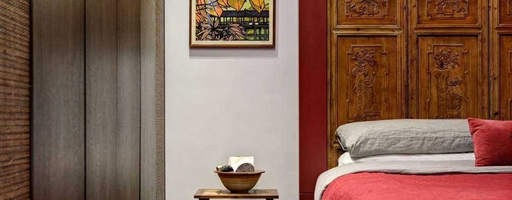 oriental vintage:  Bedroom by ample design co ltd