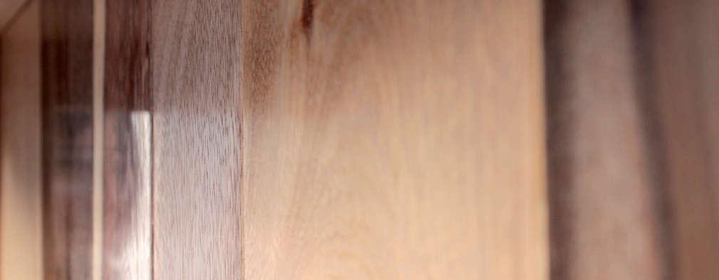 Detalle de maderas:  de estilo  por Aitorismo&cía