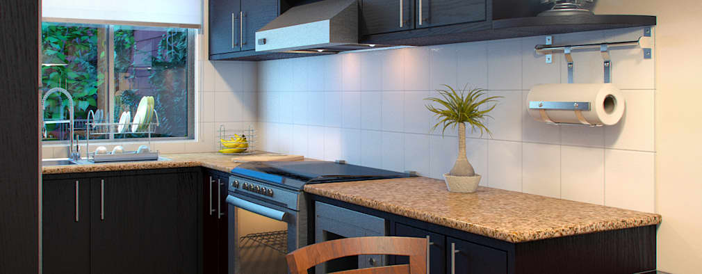 Cocinas pequeñas: ¡7 ideas para aprovechar el espacio al máximo!