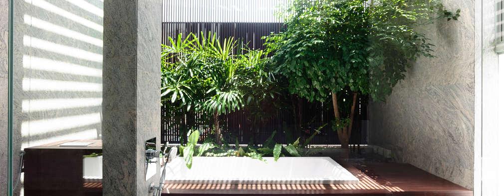 modern Spa by HYLA Architects