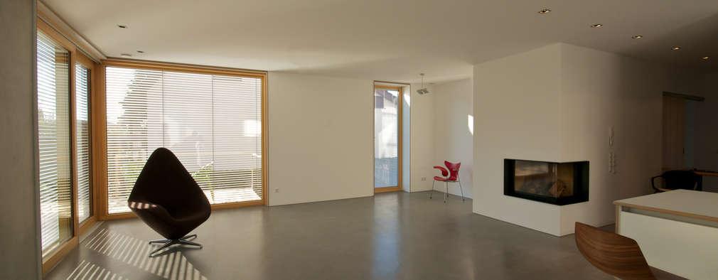 Гостиная в . Автор – Udo Ziegler | Architekten