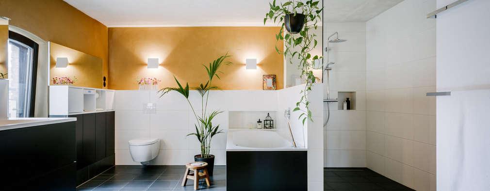 modern Bathroom by raumdeuter GbR