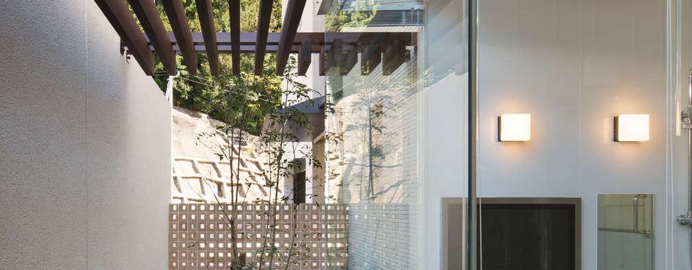 浴室2: 株式会社 U建築研究所が手掛けたスパです。