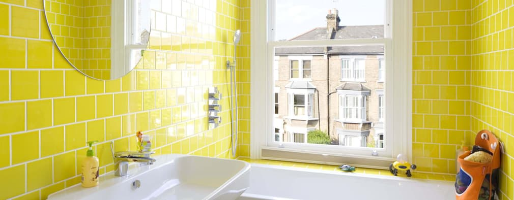 Fun and colourful bathroom ideas and inspiration