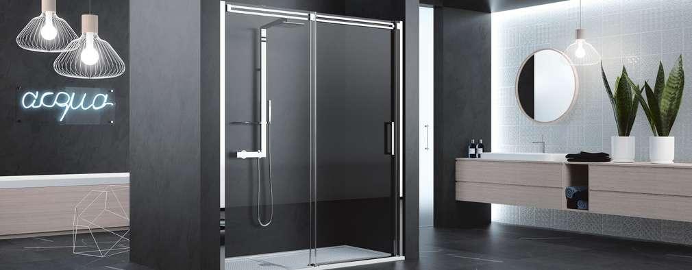 5 platos de ducha para 5 tipos de ba o for Tipos de duchas para banos