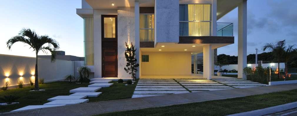10 sobrados com arquitetura arrebatadora for Casa minimalista 120m2