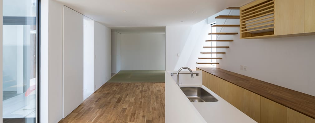SUNOMATA: 武藤圭太郎建築設計事務所が手掛けたキッチンです。