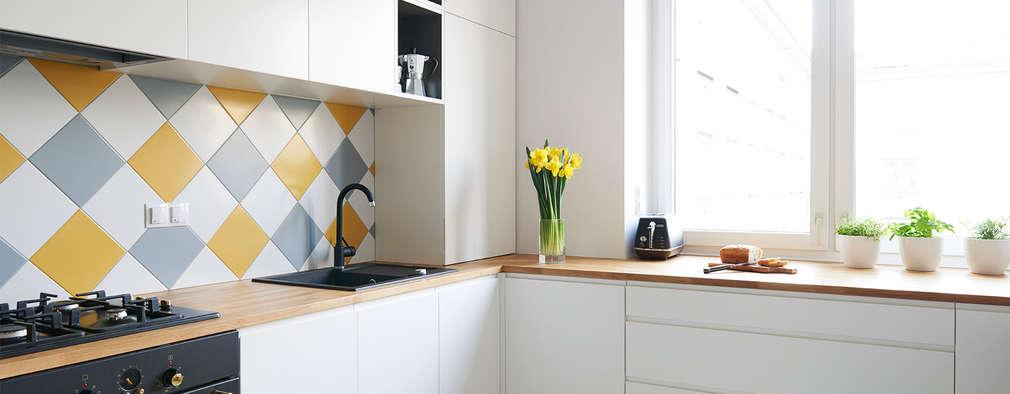 Cozinhas escandinavas por Studio R35