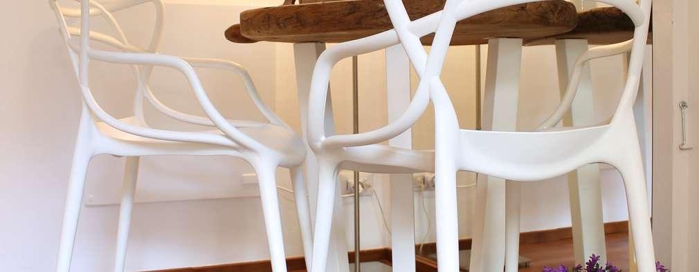 Salas de jantar modernas por Arch. Silvana Citterio