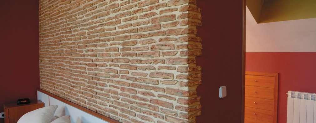 Projekty,  Sypialnia zaprojektowane przez Pinturas oliváN